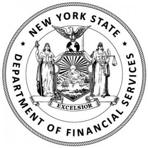 New York Department of Financial Services (NYDFS) seal.