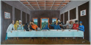"""Last Bitc0in Supper"" by Youl."