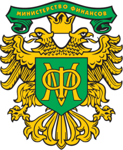 Emblem of Ministry of Finance of the Russian Federation