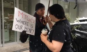 Kolin Burges confronts Mt.Gox CEO Mark Karpeles.