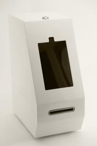 Skyhook's ATM prototype.